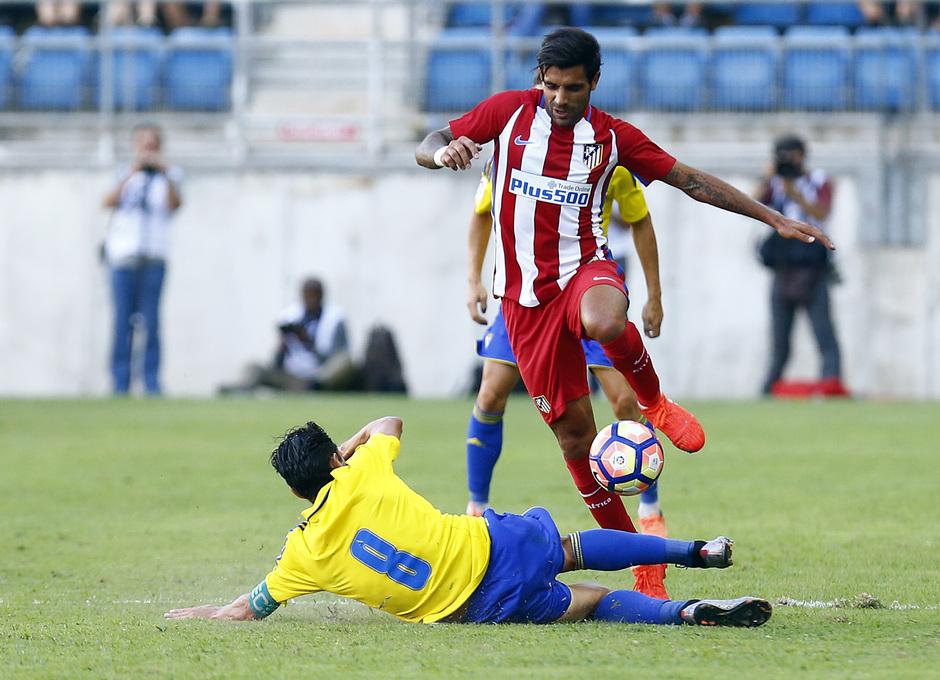 Pretemporada 16-17. Cádiz - Atlético de Madrid. Augusto Fernández