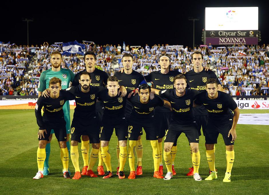 Temp. 16/17 | Leganés - Atlético de Madrid | Once titular