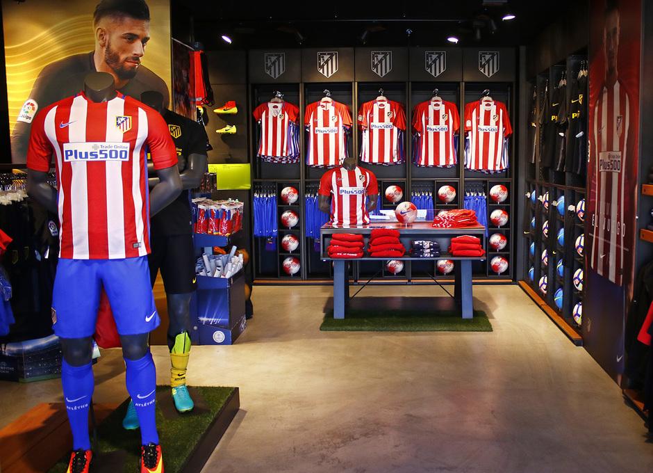 Tienda Ciudad Deportiva Wanda Atlético de Madrid