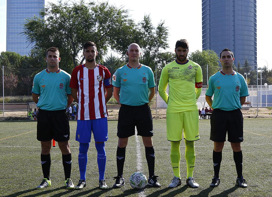 Temp. 2016/2017. Unión Adarve - Atlético de Madrid B