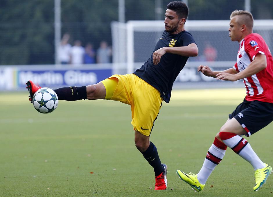 UEFA YOUTH LEAGUE. PSV - Atlético de Madrid en Eindhoven