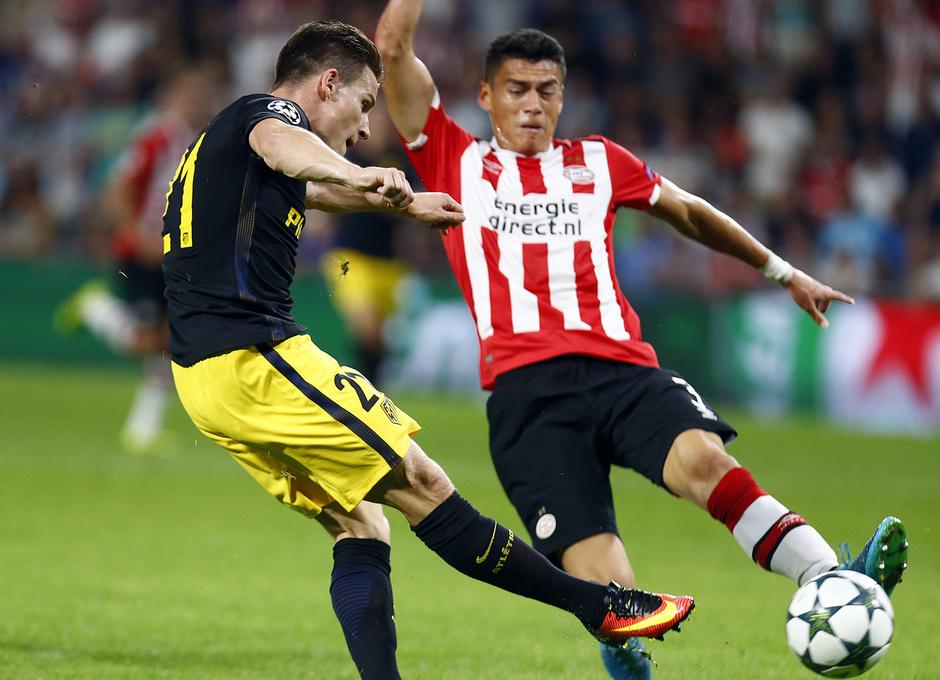 Temp. 16/17 | PSV - Atlético de Madrid | Gameiro