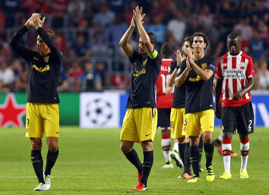 Temp. 16/17 | PSV - Atlético de Madrid | Celebración