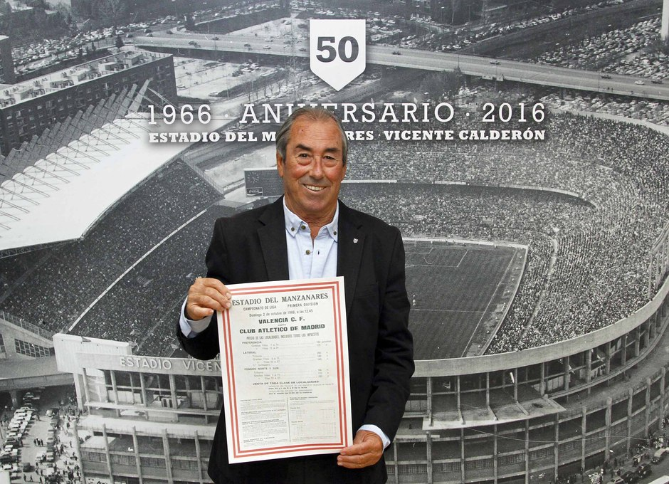 Temporada 2016-2017. Homenaje a los veteranos en el 50 años del estadio Vicente Calderón.
