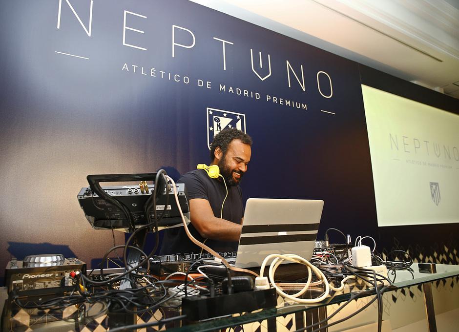 Presentación Neptuno Atlético de Madrid Premium