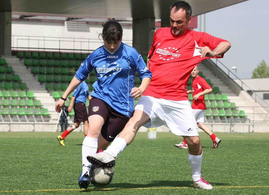 Temporada 2012-2013. Leire durante el triangular disputado en Las Rozas