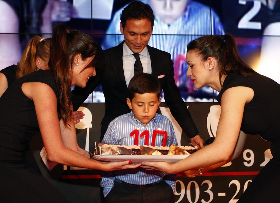 Temporada 12/13. Reportaje. 110 años de la historia del club. Acto Estadio Vicente Calderón
