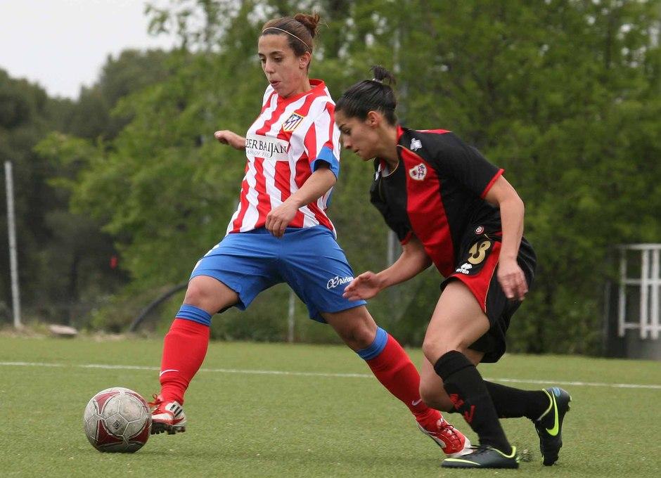 Temporada 2012-2013. Nagore fue protagonista al hacer el segundo gol de las rojiblancas