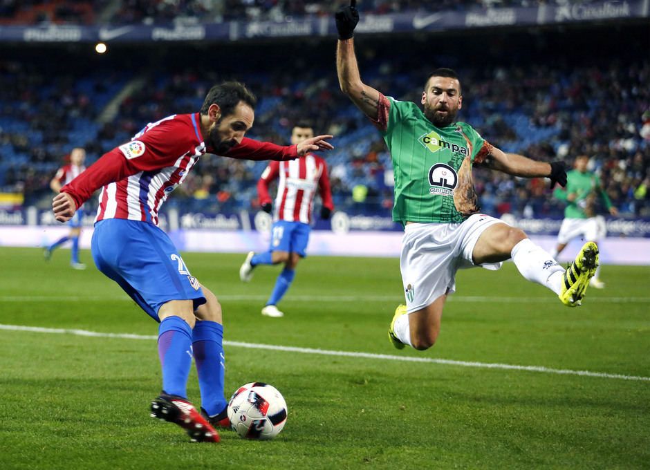 Temp. 16/17 | Atlético de Madrid - Guijuelo | Juanfran
