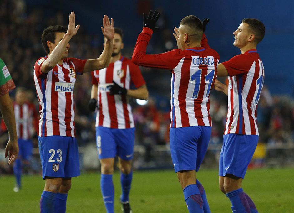 Temp. 16/17 | Atlético de Madrid - Guijuelo | Celebración