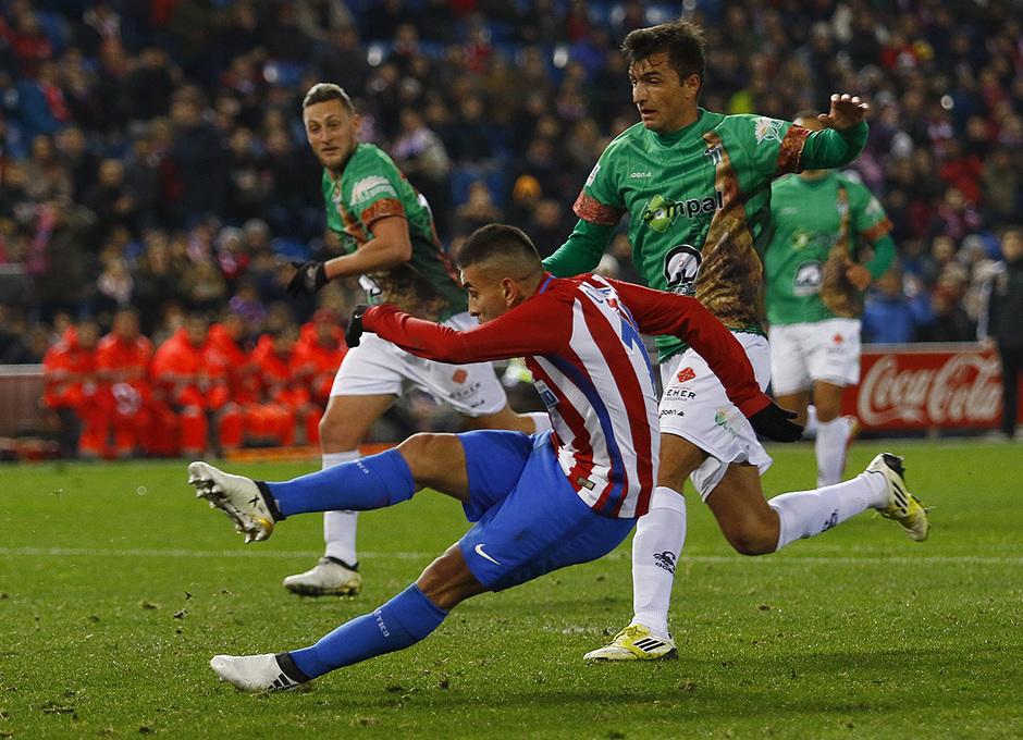 Temp. 16/17 | Atlético de Madrid - Guijuelo | Correa