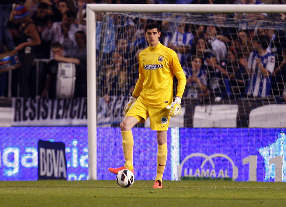 Temporada 12/13. Deportivo de La Coruña vs. Atlético de Madrid 4