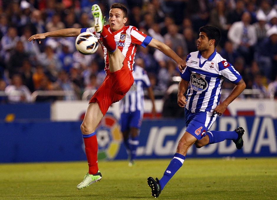 Temporada 12/13. Deportivo de La Coruña vs. Atlético de Madrid 7