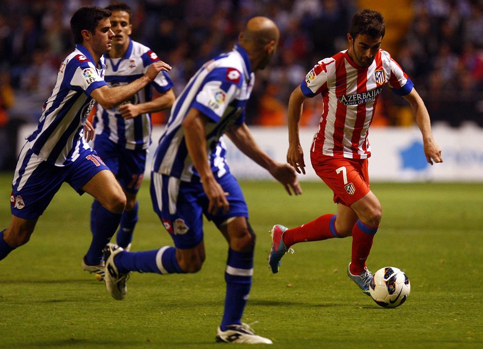 Temporada 12/13. Deportivo de La Coruña vs. Atlético de Madrid 11