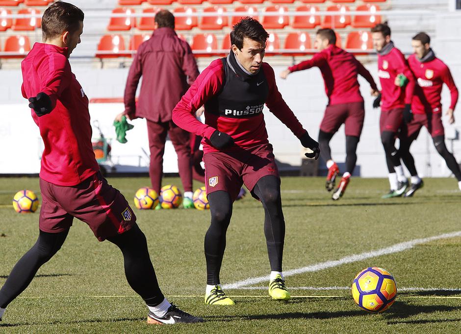 Entrenamiento 06-01-2017 en la Ciudad Deportiva Wanda | Gaitán