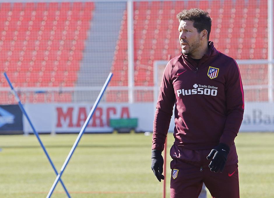 Entrenamiento 06-01-2017 en la Ciudad Deportiva Wanda | Simeone