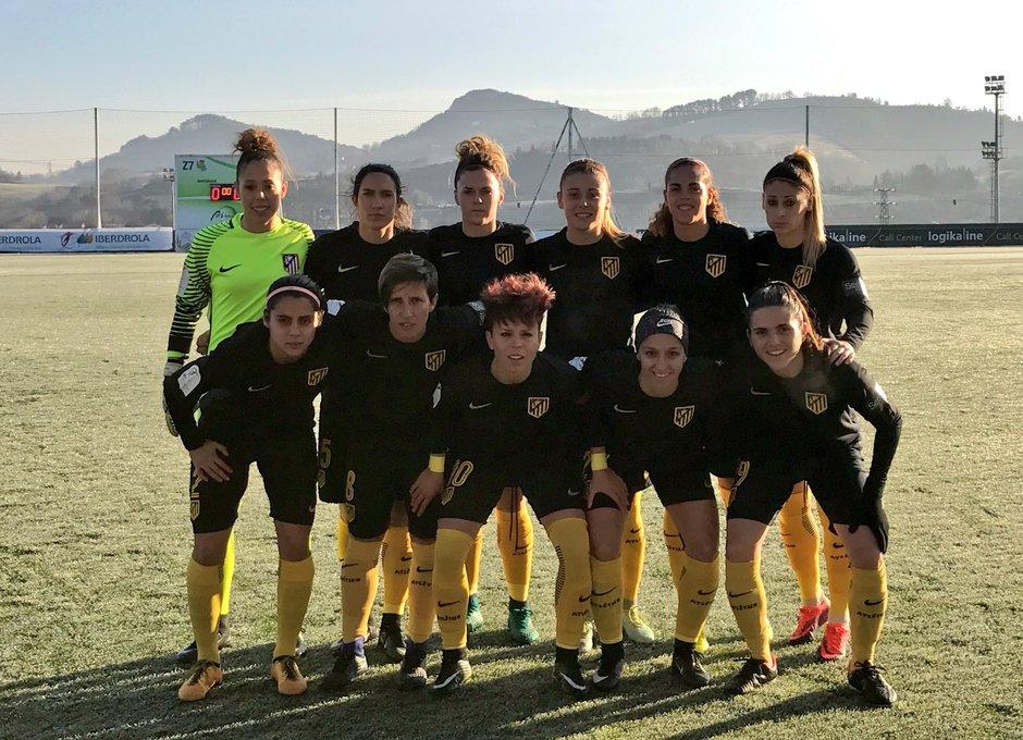 Temp. 16/17 | Real Sociedad - Atlético de Madrid Femenino | Once
