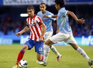 Temporada 12/13. RC Celta de Vigo vs. Atlético de Madrid 3