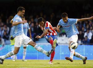 Temporada 12/13. RC Celta de Vigo vs. Atlético de Madrid 5