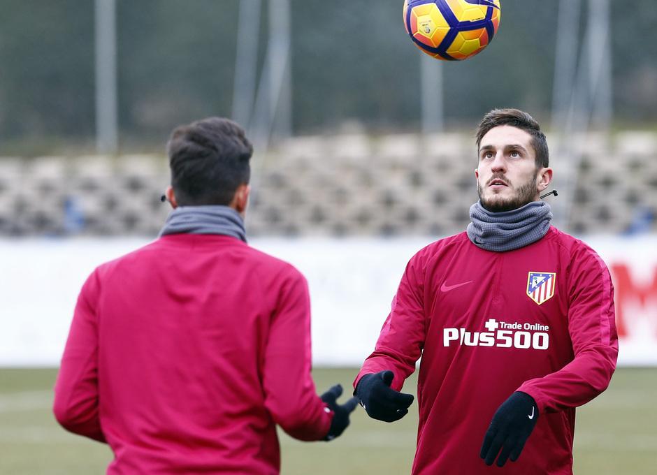 Temporada 2016-2017. Entrenamiento en la ciudad deportiva Wanda Atlético de Madrid 26_01_2017.