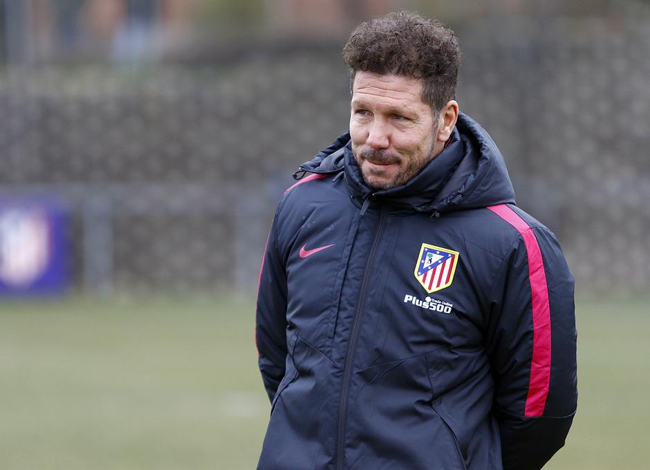 Temporada 16/17 | 26/01/2017 | Entrenamiento en la Ciudad Deportiva Wanda | Simeone