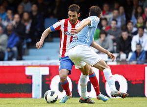 Temporada 12/13. RC Celta de Vigo vs. Atlético de Madrid Adrián