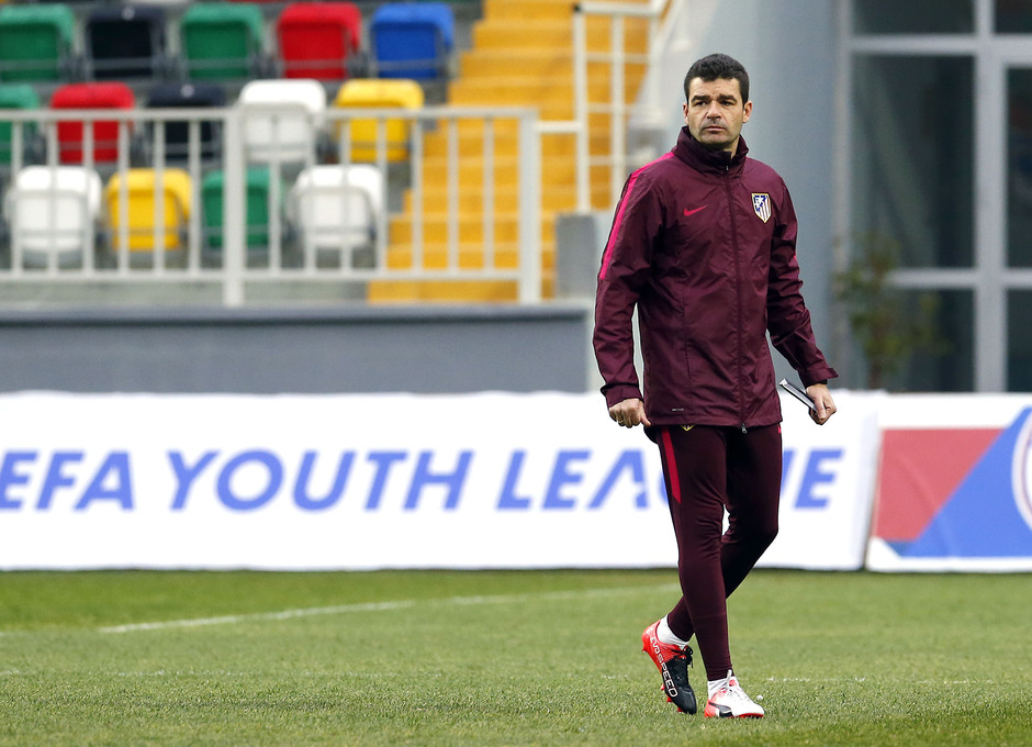Temp. 16/17 | Entrenamiento Juvenil Youth League previa Altinordu | Manolo Cano