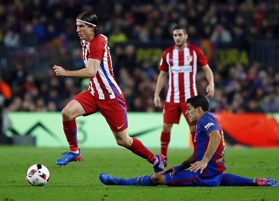 Temp. 16/17 | FC Barcelona - Atlético de Madrid | Filipe Luis