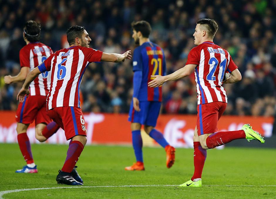 Temp. 16/17 | FC Barcelona - Atlético de Madrid | Celebración