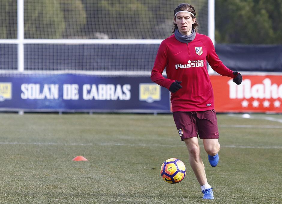 Temporada 16/17 | Entrenamiento en la Ciudad Deportiva Wanda | 09/02/2017 | Filipe
