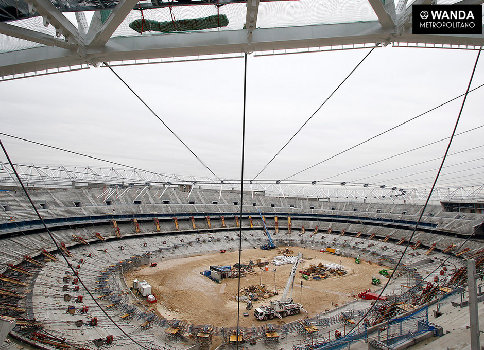 Wanda Metropolitano. 10 de febrero de 2016.