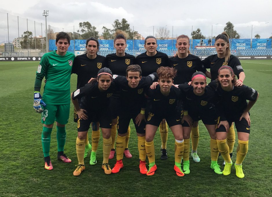 Temp. 16/17 | Espanyol - Atlético de Madrid Femenino | Once