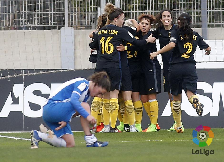 Temp. 16/17 | Espanyol - Atlético de Madrid Femenino | Celebración
