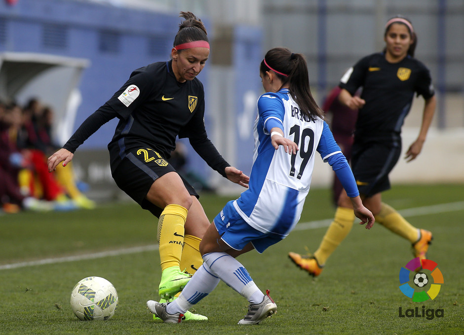 Temp. 16/17 | Espanyol - Atlético de Madrid Femenino | Marta Corredera