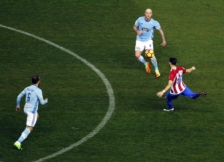 Temp. 16/17   Atlético de Madrid - Celta   Carrasco
