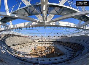 Wanda Metropolitano. 20 de febrero de 2017.