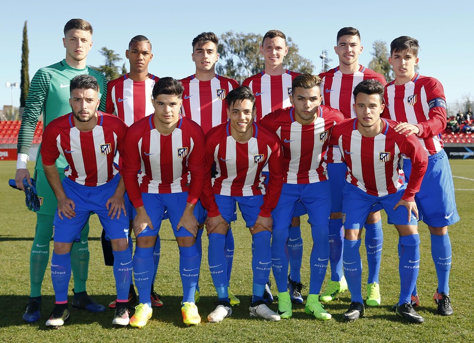 Temp. 16/17 | Youth League | Atlético de Madrid - Sevilla | Once