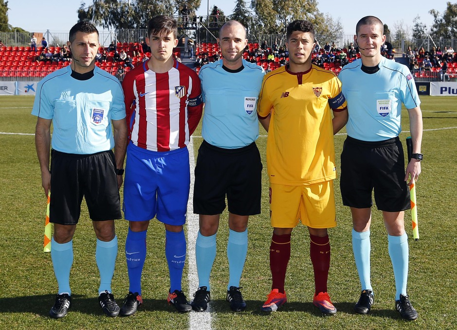 Temp. 16/17 | Youth League | Atlético de Madrid - Sevilla | Capitanes