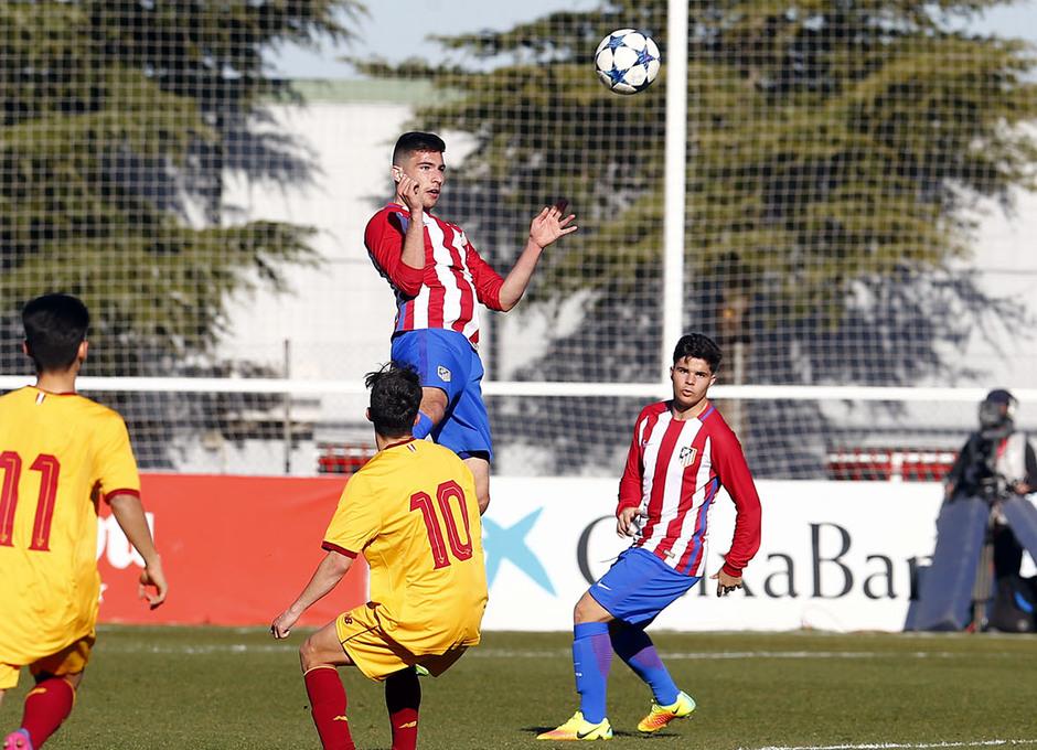 Temp. 16/17 | Youth League | Atlético de Madrid - Sevilla | Tachi
