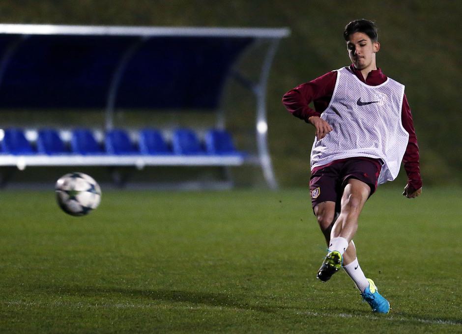 Temp 16/17 | Youth League | Entrenamiento del Juvenil A en la Ciudad Deportiva del Salzburgo