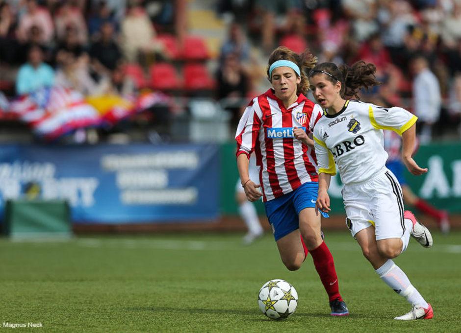 Temporada 2012-2013. El infantil del Féminas cayó en la final de Estocolmo