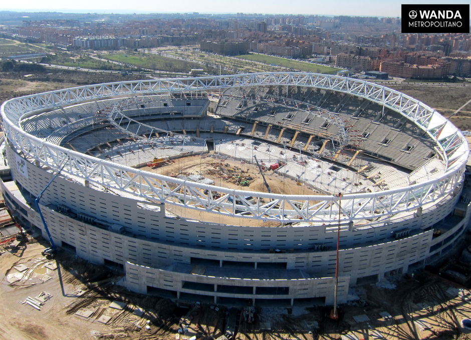 Wanda Metropolitano. 22 de febrero de 2017.