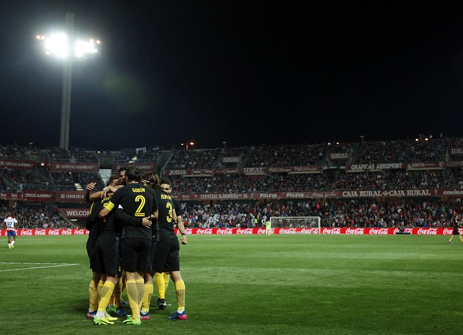 Temp. 16/17 | Granada - Atlético de Madrid | Celebración