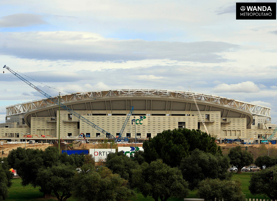 Wanda Metropolitano. 13 de marzo de 2017.