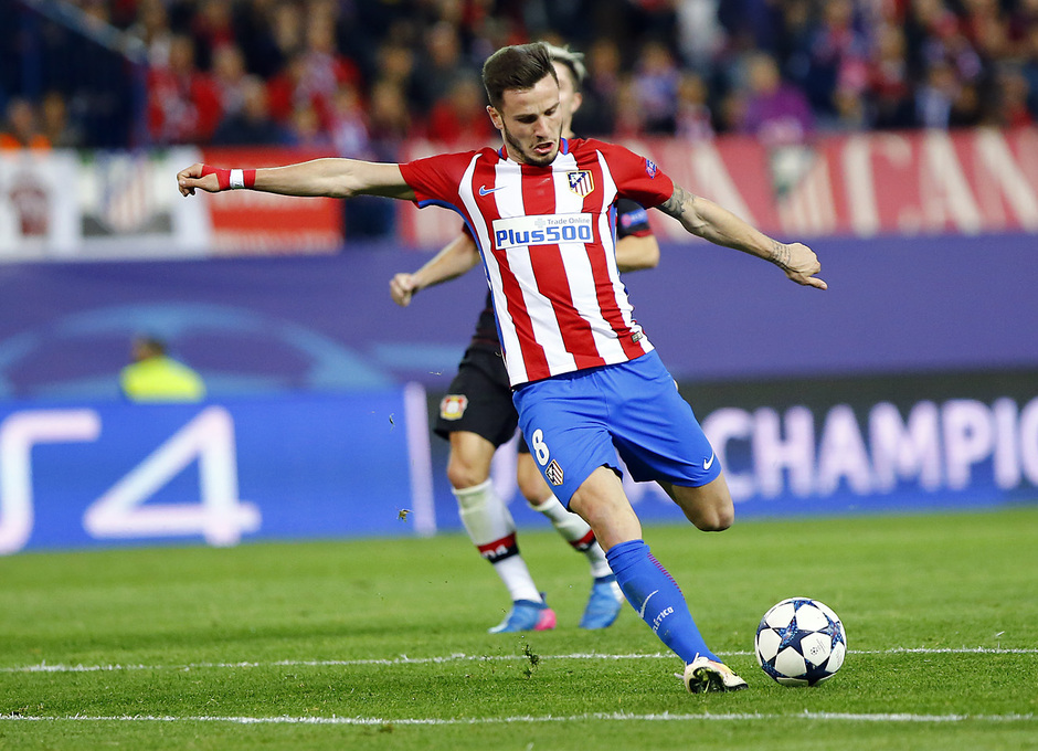 Temp. 16/17 | Atlético de Madrid - Bayer Leverkusen | Saúl