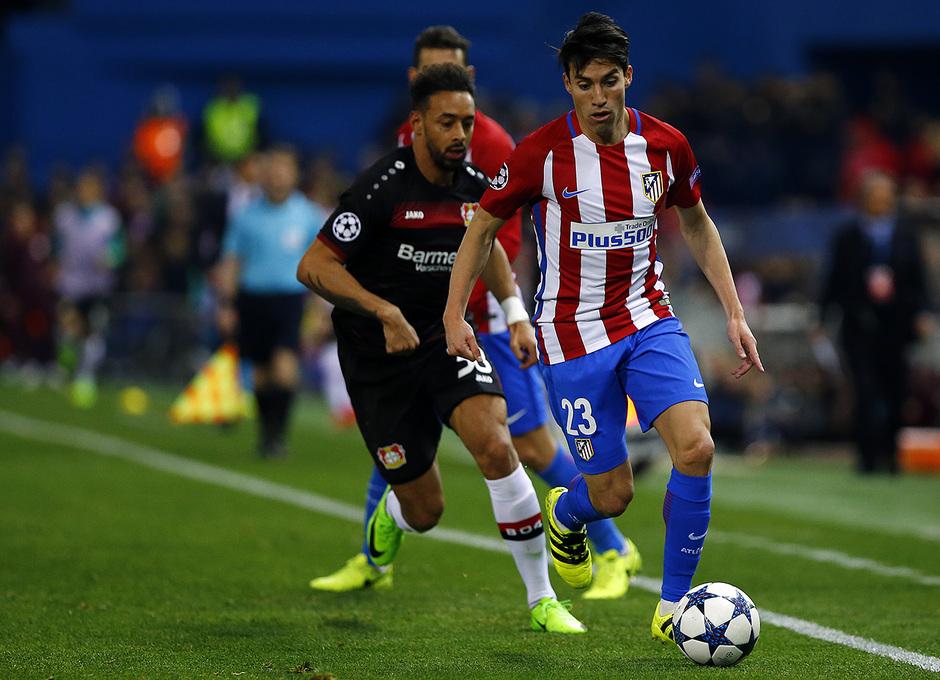Temp. 16/17 | Atlético de Madrid - Bayer Leverkusen | Gaitán