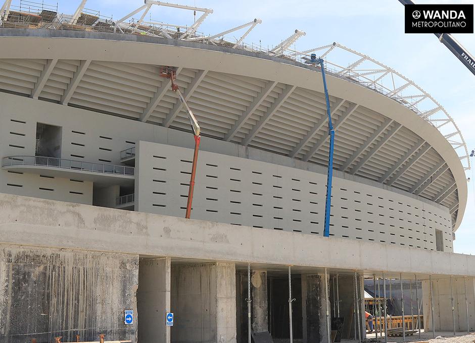 Wanda Metropolitano. 17 de marzo de 2017.