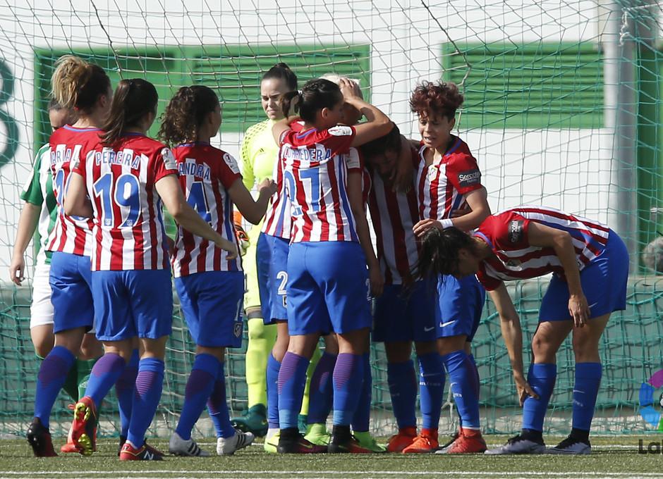 Temp 2016-2017 | Liga Iberdrola | Betis - Atlético de Madrid Femenino | Celebración