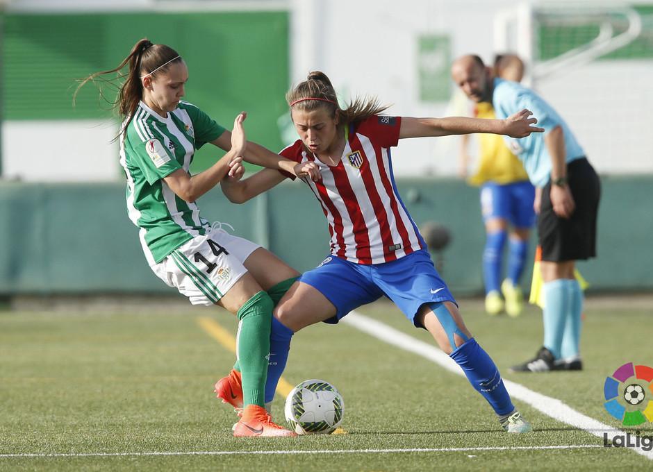 Temp 2016-2017 | Liga Iberdrola | Betis - Atlético de Madrid Femenino | Menayo