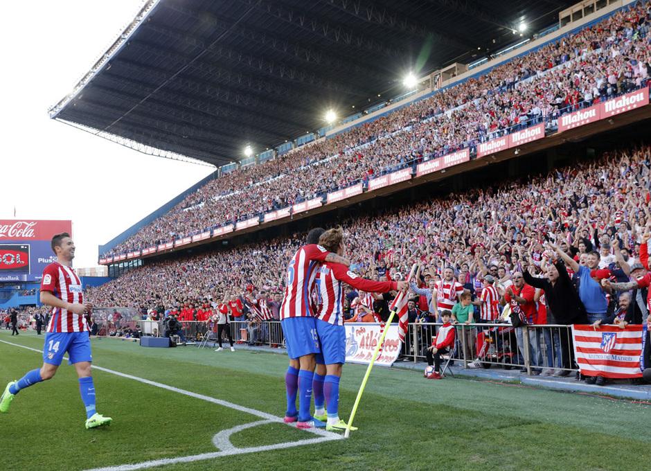 Temp. 16/17 | Atlético de Madrid - Sevilla | Celebración córner